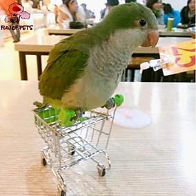 olcso Kiegészítők madaraknak-Műanyag/Rozsamentes acél - Hordozható - Madárjátékok - Madaraknak
