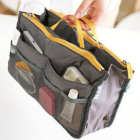 povoljno Potrepštine za šminkanje-Pohrana kozmetike Kozmetičke torbice Šminka 1 pcs Poliester Klasik Dnevno Kozmetički Potrepštine za održavanje krzna