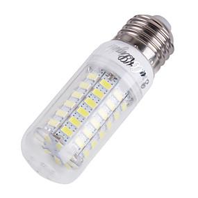 olcso Youoklight®-YouOKLight 4 W LED kukorica izzók 300-350 lm E14 E26 / E27 T 69 LED gyöngyök SMD 5730 Dekoratív Meleg fehér Hideg fehér 220-240 V 110-130 V / 1 db. / RoHs