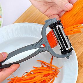 رخيصةأون أدوات & أجهزة المطبخ-3 في 1 أدوات تقشير البطاطا بالقرع الفاكهة دوارة الجزر peeler360