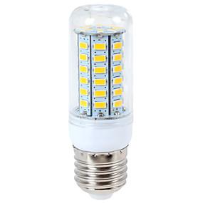 olcso SENCART-ywxlight® 1200 lm e14 g9 e26 / e27 vezetett kukorica fények 56led 5730mg meleg fehér hűvös fehér LED-es villanykörte ac 110-130v ac 220-240v