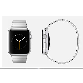 povoljno High Quality Stainless Steel Watch Bands-Pogledajte Band za Apple Watch Series 5/4/3/2/1 Apple Leptir Buckle Nehrđajući čelik Traka za ruku