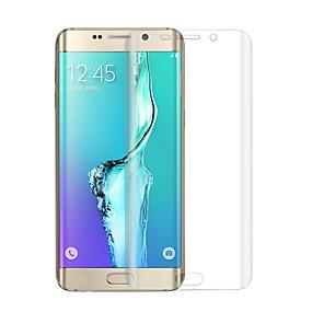 Недорогие Чехлы и кейсы для Galaxy S-Samsung GalaxyScreen ProtectorS6 edge plus Против отпечатков пальцев Защитная пленка для экрана 1 ед. Закаленное стекло