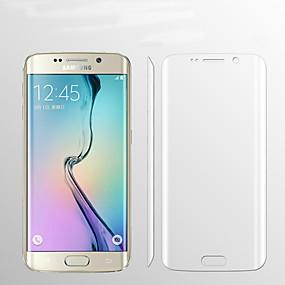 Недорогие Чехлы и кейсы для Galaxy S-Samsung GalaxyScreen ProtectorS6 edge plus HD Защитная пленка для экрана 1 ед. TPU