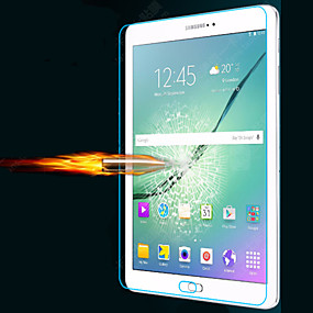 Недорогие Galaxy Tab Защитные пленки-Защитная плёнка для экрана для Samsung Galaxy Закаленное стекло Защитная пленка для экрана Защита от царапин