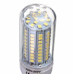 olcso SENCART-1db 6 W LED kukorica izzók 500 lm E14 G9 GU10 T 102 LED gyöngyök SMD 2835 Dekoratív Meleg fehér Hideg fehér 220-240 V / 1 db. / RoHs
