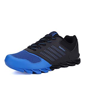 olcso Obsolete Products-Férfi Kényelmes cipők Műbőr Tavasz / Ősz Futócipő Csúszásmentes Kék / Zöld / Narancssárga / Fűző