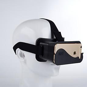 olcso VR Glasses-3D-s szemüvegek Műanyag Átlátszó VR Virtuális Valódi Szemüvegek Kör