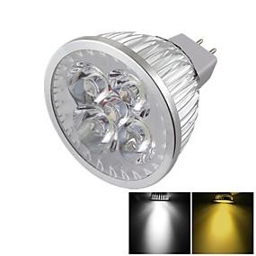 olcso Youoklight®-YouOKLight LED szpotlámpák 400 lm GU5.3(MR16) MR16 4 LED gyöngyök Nagyteljesítményű LED Tompítható Dekoratív Meleg fehér Hideg fehér 12 V / 1 db. / RoHs