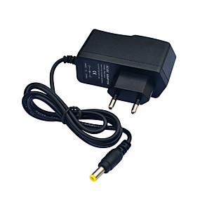 olcso Tápegységek-jiawen ac110 ~ 240v a dc12v 1a tápegység adapter átalakító transzformátorhoz - fekete (eu dugó)