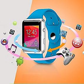 رخيصةأون ساعات ذكية-BSW V08 الساعات الذكية يمكن ارتداؤها، والمكالمات حر اليدين / وسائل الإعلام السيطرة السيطرة / كاميرا / ماء لالروبوت&دائرة الرقابة