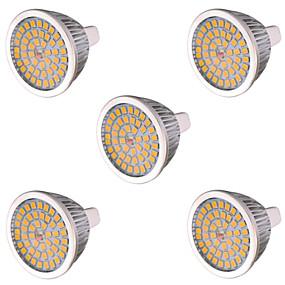 billige LED og belysning-ywxlight® gu5.3 (mr16) 48led 7w 2835smd 550-650lm ledet maislys varm hvit, kald, hvit, led spotlight, ac 85-265 ac 12 v