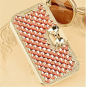 cheap Galaxy A8 Cases / Covers-Case For Samsung Galaxy A8 / A7 / A5 Card Holder / Rhinestone / with Stand Full Body Cases Tile PU Leather