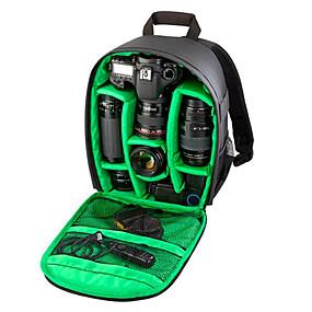 olcso Táskák-fotózás több functionaldigital DSLR fényképezőgép táska hátizsák vízálló fotó Camara táskák esetében mochila a fotós