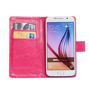 economico Galaxy Trend Duos-Custodia Per Samsung Galaxy Z3 / Young 2 / Trend Lite Rotazione a 360° / Porta-carte di credito / Con supporto Integrale Tinta unita pelle sintetica