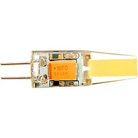 رخيصةأون SENCART-YWXLIGHT® 1PC 4 W أضواء LED Bi Pin 250-350 lm G4 T 2 الخرز LED COB ديكور أبيض دافئ أبيض كول أبيض طبيعي 12 V 24 V / قطعة / بنفايات