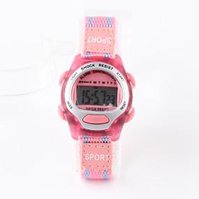 olcso Karórák lányoknak-Sportos óra digitális karóra Digitális Pink Vízálló Digitális hölgyek Amulett Divat Egy év Akkumulátor élettartama / Tianqiu 377