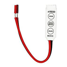 olcso LED szalagfény tartozékok-ZDM® RGB szalagfények LED 3528 SMD / 5050 SMD RGB Dekoratív 12 V 10pcs