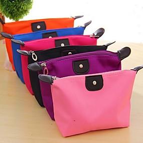 cheap Bathroom Gadgets-Travel Insert Portable Cosmetic Handbag Organiser Purse  Liner Tidy Makeup Travel Toiletries Bag(Random Colors)