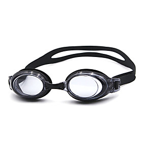 olcso Vízi sportok-Úszás Goggles Vízálló Páramentesítő Vényköteles Tükrözött Silica Gel Műanyag Fehér Fekete Kék Sárga Rózsaszín Fekete