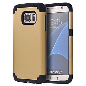 voordelige Galaxy S7 Edge Hoesjes / covers-hoesje Voor Samsung Galaxy S8 / S8 Edge / S7 edge plus Schokbestendig Bumper Effen PC