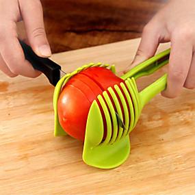 رخيصةأون أدوات & أجهزة المطبخ-تقطيع قطع الفاكهة المحمولة باليد الطماطم الليمون البطاطا مقطع حامل البيض
