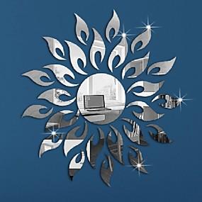 رخيصةأون ملصقات ديكور-حيوانات الناس حياة هادئة رومانسية أزياء أشكال عتيقة عطلة كارتون وقت الفراغ خيال ملصقات الحائط ملصقات الحائط على المرآة لواصق حائط مزخرفة,