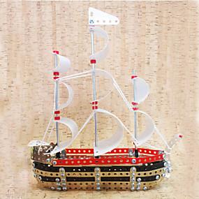 povoljno Igračke i razonoda-333 pcs Brod 3D puzzle Drvene puzzle Metalne puzzle Metal Dječji Odrasli Igračke za kućne ljubimce Poklon