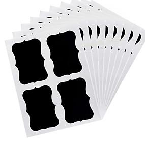 olcso Évszakos tárolás-36pcs kréta toll lapkamra címkék vinil konyhai emlékeztető matrica