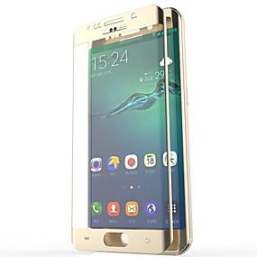 olcso Galaxy S Képernyővédő fóliák-Képernyővédő fólia mert Samsung Galaxy S7 edge / S6 edge plus / S6 edge Edzett üveg Kijelzővédő fólia 2.5D gömbölyített szélek