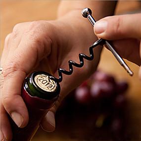 olcso Báros készlet-bor palacknyitó dugóhúzó kulcstartó rozsdamentes acél szabadtéri szerszámok