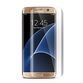 Недорогие Чехлы и кейсы для Galaxy S-Hat-Prince Защитная плёнка для экрана для Samsung Galaxy S7 edge PET Защитная пленка для экрана HD