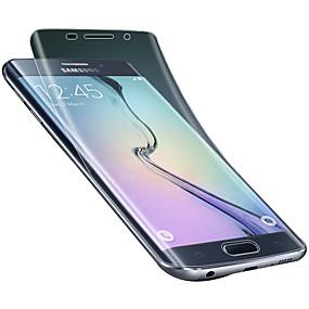 Недорогие Чехлы и кейсы для Galaxy S-Защитная плёнка для экрана для Samsung Galaxy S6 edge plus / S6 edge PET Защитная пленка для экрана Против отпечатков пальцев