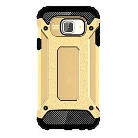 Недорогие Чехлы и кейсы для Galaxy A7(2016)-Кейс для Назначение SSamsung Galaxy A7(2016) / A5(2016) / A3(2016) Защита от удара Кейс на заднюю панель броня ПК
