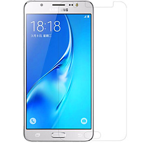 Недорогие Защитные пленки для Samsung-Защитная плёнка для экрана для Samsung Galaxy J5 (2016) PET Защитная пленка для экрана Против отпечатков пальцев