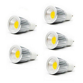 olcso HRY®-5pcs 5 W LED szpotlámpák 3000/6500 lm GU10 GU5.3(MR16) E26 / E27 MR16 1 LED gyöngyök COB Meleg fehér Hideg fehér 85-265 V / 5 db. / RoHs / CCC