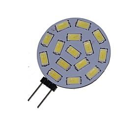 olcso SENCART-1.5 W LED szpotlámpák 3000-3500/6000-6500 lm G4 MR11 15 LED gyöngyök SMD 5730 Dekoratív Meleg fehér Hideg fehér 12 V 24 V / 1 db. / RoHs