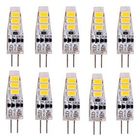 olcso Vásároljon többet, és spóroljon-ywxlight® 10db g4 2w 200lm 5730smd led bi-pólusú lámpa meleg fehér hűvös, fehér vezetett kukorica izzó csillár lámpa dc 12v