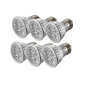 ieftine Spoturi LED-YouOKLight 6pcs 4 W Spoturi LED 300-350 lm E26 / E27 R63 4 LED-uri de margele LED Putere Mare Intensitate Luminoasă Reglabilă Decorativ Alb Cald Alb Rece 85-265 V / 6 bc / RoHs