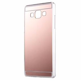 voordelige Galaxy A3(2016) Hoesjes / covers-hoesje Voor Samsung Galaxy A7(2016) / A5(2016) / A3(2016) Spiegel Achterkant Effen Acryl