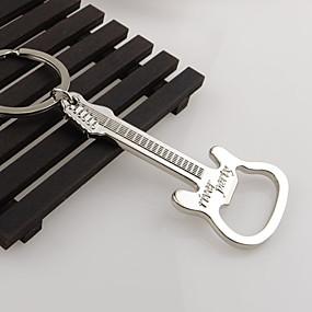 olcso Báros készlet-ajándék cink ötvözet sör gitár sörnyitó sörnyitó kulcstartó kulcstartó kulcstartó kulcstartó