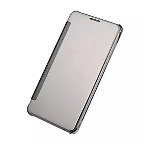 voordelige Galaxy A3(2016) Hoesjes / covers-hoesje Voor Samsung Galaxy A9(2016) / A7(2016) / A5(2016) Beplating / Spiegel / Flip Volledig hoesje Effen PC