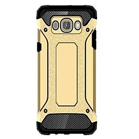 Недорогие Чехлы и кейсы для Galaxy J1(2016)-Кейс для Назначение SSamsung Galaxy J7 (2016) / J5 (2016) / J1 Mini Водонепроницаемый / Защита от удара Кейс на заднюю панель броня ПК