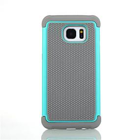 voordelige Galaxy S7 Edge Hoesjes / covers-hoesje Voor Samsung Galaxy S8 Plus / S8 / S7 edge Schokbestendig Volledig hoesje Schild Hard Siliconen