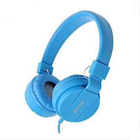 olcso Headsetek & hangszórók-Gaming Headset Vezetékes Mobiltelefon V2.0 Zajszűrő A hangerőszabályzóval