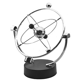 cheap Models & Building Toys-Kinetic Orbital Educational Toy Perpetual Motion Desk Toy Stress and Anxiety Relief Office Desk Toys Metalic Boys' Girls' Toy Gift 1 pcs