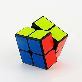cheap Educational Toys-Speed Cube Set Magic Cube IQ Cube YONG JUN 2*2*2 Magic Cube Stress Reliever Puzzle Cube Professional Level Speed Professional Classic & Timeless Kid's Adults' Children's Toy Boys' Girls' Gift