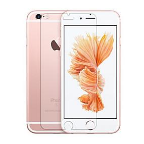 olcso Videokamera & fényképezőgép tartozékok-AppleScreen ProtectoriPhone 6s Plus 9H erősség Kijelzővédő fólia 1 db Edzett üveg / iPhone 6s / 6 / 2.5D gömbölyített szélek