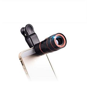olcso Távcsövek-8 X 18 mm Félszemű Kompakt méret Popuni multi-premaz BAK4 Műanyag / Igen / Madárfigyelő