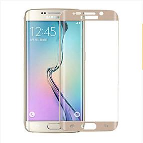 Недорогие Чехлы и кейсы для Galaxy S-asling защитный экран для s6 края закаленного стекла 1 шт 2.5d изогнутый край 9h твердость